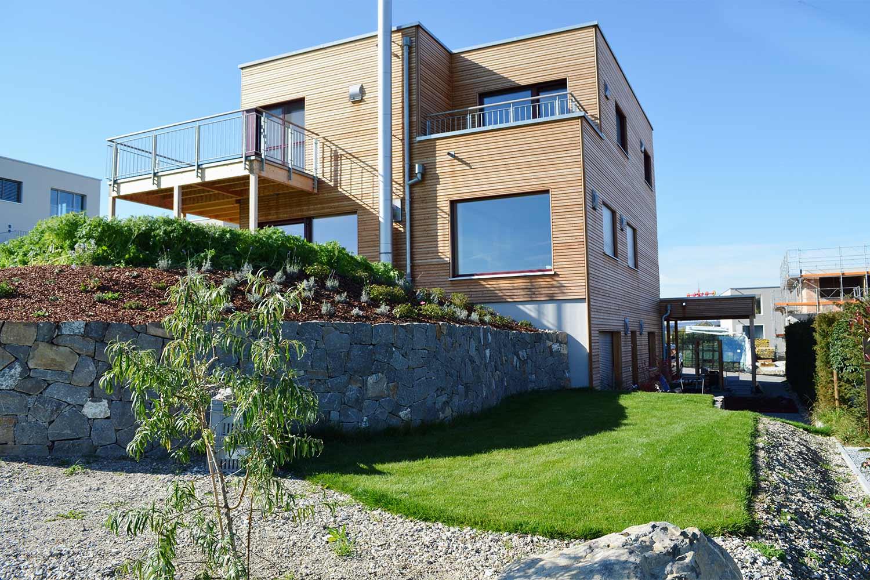Neuanlage Einfamilienhaus
